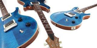 электрические гитары изолировали Стоковые Фотографии RF