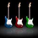 электрические гитары Стоковое Изображение