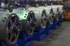Электрические двигатели для самосвалов карьера стоковые изображения rf