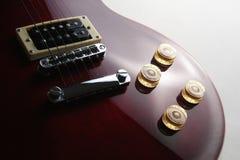 электрические изолированные гитары Стоковое Изображение