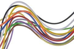 Электрические кабели Стоковое Фото