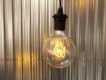Электрические лампочки старой школы Стоковые Фотографии RF