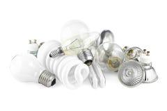 Электрические лампочки Стоковая Фотография