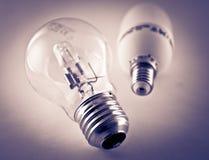 Электрические лампочки Стоковое Изображение