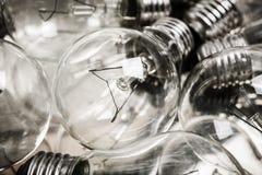 Электрические лампочки стоковые фото