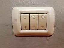 Электрические плиты переключателя Стоковая Фотография RF