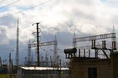 Электрические подстанции Altaya Стоковое Изображение RF