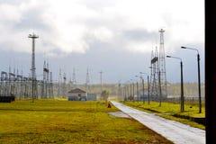 Электрические подстанции Altaya Стоковое фото RF