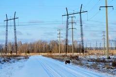Электрические подстанции Altaya Стоковая Фотография RF