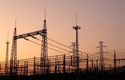 электрические поля Стоковые Фотографии RF