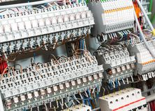 Электрические поставки стоковое фото rf