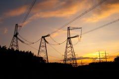электрические проводы стоковое изображение