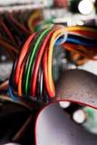 электрические проводы Стоковые Фото