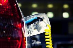 Электрический автомобиль стоковое изображение