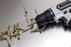 Электрический винт стоковое фото rf