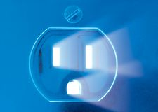 электрический выход стилизованный Стоковые Фото