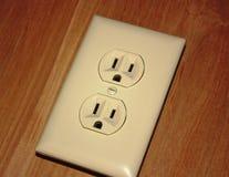 Электрический выход стоковые изображения rf