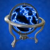 электрический глобус иллюстрация штока