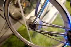 Электрический двигатель велосипеда Стоковые Изображения RF