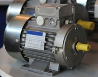 электрический двигатель Стоковые Фото