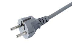 электрический европейский тип штепсельной вилки Стоковое Изображение RF