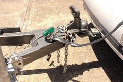Электрический кабель отбуксировки стоковая фотография