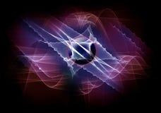 электрический космос Стоковое Изображение