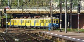 Электрический множественный блок оператора SKM в стержне Гданьска центральном Стоковая Фотография