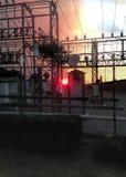 Электрический огонь Солнця Стоковое Изображение RF