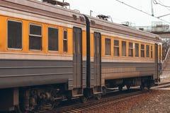 электрический пассажирский поезд Стоковые Изображения RF
