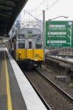 электрический поезд Сиднея Стоковая Фотография