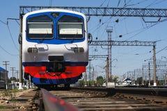 электрический поезд стоковое изображение