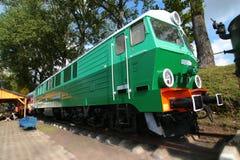 электрический поезд Стоковое Фото