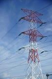электрический полюс Стоковое фото RF