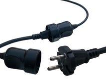 электрический провод штепсельной вилки изоляции Стоковые Изображения RF