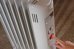 электрический радиатор Стоковые Фотографии RF