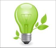 электрический раскаленный добела светильник Стоковое фото RF