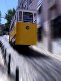 электрический старый трам стоковое фото rf