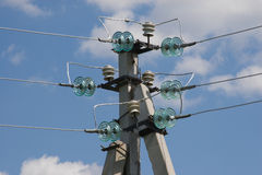 электрический столб Стоковое Изображение RF
