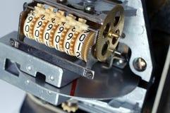 электрический счетчик энергии стоковые фотографии rf
