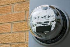 электрический счетчик Стоковое Фото