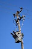 электрический трансформатор 2 Стоковые Фото