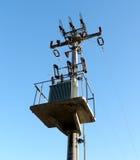 электрический трансформатор Стоковое Изображение
