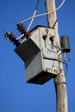 электрический трансформатор Стоковое Фото