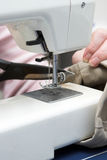 электрический шить машины Стоковое Изображение