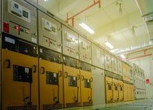 Электрический шкаф подстанции Стоковое Изображение