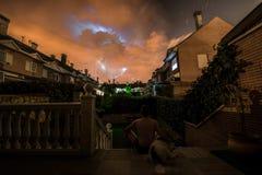 Электрический шторм стоковое изображение rf