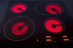 электрический hob Стоковое фото RF