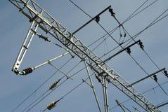 электрический railway Стоковые Изображения RF