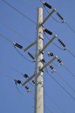 электрическое общее назначение полюса Стоковая Фотография